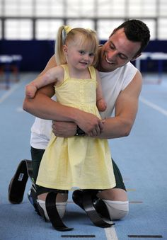 Ellie May Challis And Oscar Pistorious 'Race' In Inspiring Series Of Newly Discovered Images (PHOTOS)