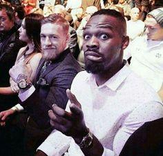Jon Bones Jones and Conor Magregor - 2 of the UFC elite