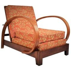 Shop armchairs and other antique and modern chairs and seating from the world's best furniture dealers. Art Deco Furniture, Cool Furniture, Restore Wood, Wood Detail, Mid Century Chair, Modern Chairs, Upholstery, Armchairs, Sofas
