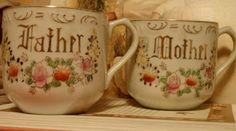 Mother father matching Mugs.  $9.00 !!
