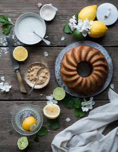 Cegan lemon drizzle bundt cake + a worldwide instagram mentoring giveaway | The Little Plantation Blog