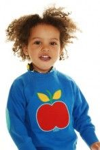 duns sweden blue apple sweatshirt