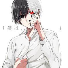 tokyo ghoul, anime, and kaneki image Kaneki Kun, Ken Kaneki Tokyo Ghoul, Tsukiyama, Ayato, Kaneki Chibi, Anime K, Dark Anime, Anime Guys, Sketches