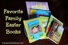 Favorite Family Easter Books!