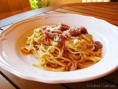 ¿Cuál es la #receta de la auténtica pasta carbonara? ¿Lleva nata o huevos?  http://blgs.co/hA_AVA