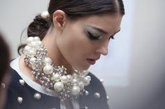 chanel pearl necklace 2013