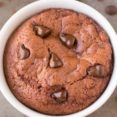 Low Carb Chocolate Mug Cake | foodgawker » gluten free | foodgawker | Bloglovin'