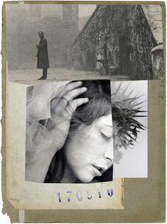 stremplerart:Collage BE ONLY 2013 Waldemar Strempler Tumblr