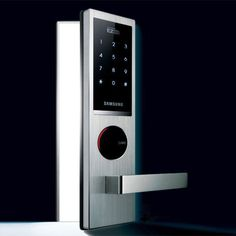 Samsung Ezon Security Entry Keyless Electronic New Digital Door Lock (Tech Office Doors) Birthday Presents For Dad, Dad Birthday, Safety And Security, Security Lock, Keyless Locks, Electronic News, Home Technology, New Gadgets, Door Locks