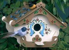 Resultado de imagem para casinhas de passarinhos