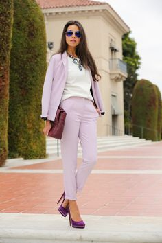 Today, we want to get you inspired with several outfit ideas of How To Wear High-Waisted Pants which we hope you will like. Stylish Street Style, Suits For Women, Clothes For Women, Look Blazer, Classy Casual, Smart Casual, Girl Fashion, Womens Fashion, Affordable Clothes
