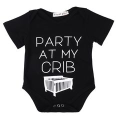 Party Crib Bodysuit