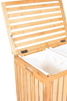 Amazon.com: BirdRock Home Clothes Spa Laundry Hamper | Made Of Natural  Bamboo: