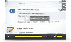 Edmodo....looking forward to signing all of my students up in a few weeks and using this on a regular basis.