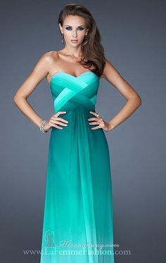 ombre criss-cross + beaded back straps... my favorite color - wow, absolutely in love with this