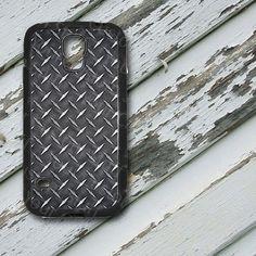 Black Diamond Plate Design on Samsung Galaxy S5 by EastCoastDyeSub