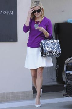 Reese Witherspoon with Jason Wu Daphne Bag