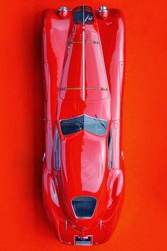 RED Alfa Romeo 8C 2900B Le Mans Speciale 1938