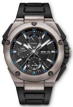 IWC Ingenieur Double Chronograph Titanium Watch Hands-On