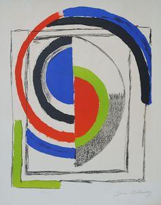 SONIA DELAUNAY (1885-1979) Through the mirrors , c.1970