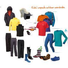 Kids' capsule wardrobe for outdoor adventure