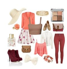 Untitled #24 by kat-romani on Polyvore featuring Oasis, Forever New, APRIL MAY, Fendi, Accessorize, Tiffany & Co., Wallis, Forever 21, Reger by Janet Reger and Lollia
