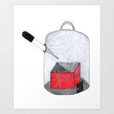 (ex)Tender Art Print by StudioSotron - $17.68