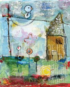 Bird Print Pack.....as seen in Somerset Studio by mindylacefield