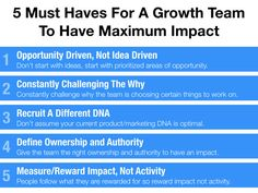 "Measuring the success of the growth team is a tougher question. Every team  from product, to marketing, to operations indirectly influences growth.  This leads to some questions and challenges: ""Why have a growth team?  Doesn't everyone own growth?"""