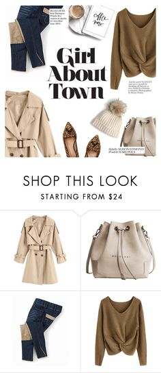 """""""Girl about town"""" by punnky ❤ liked on Polyvore featuring J.Crew and Whiteley"""