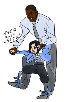 Staker and little Mako