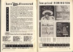 This double page advertisement is from the Schwann edition of December 1952.  A similarly styled advertisement had already been inserted in the July 1952 edition of Schwann,  announcing and showing records in the new covers. In December a 12 inch disc was now $ 2.49.
