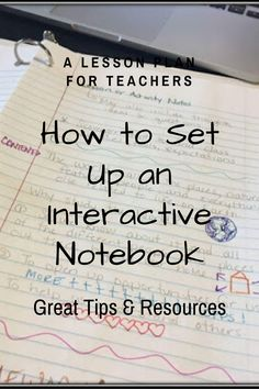 How to Set Up an Interactive Notebook Classroom Organization, Classroom Management, Organization Ideas, Teaching Strategies, Teaching Resources, Teaching Ideas, Geography Lessons, Teaching Geography, Auditory Processing
