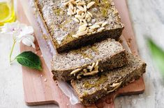 This loaf is so easy to make and goes with everything! I make a loaf and keep it in the fridge for a quick and healthy snack or with eggs for a yummy, filling breakfast. [...]Read More...