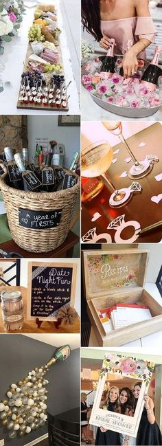 trending bridal shower ideas