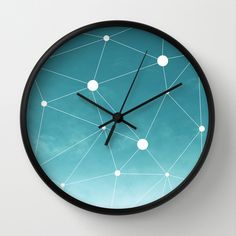 Not The Only One II Wall Clock by Galaxy Eyes - $30.00