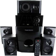 Theatre solutions TS514 Home theatre speaker system   $134.99 x 3 = $404.97