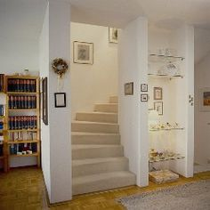 Attic, Sweet Home, House Ideas, Stairs, Amazing, Home Decor, Achilles, Staircases, Little Cottages