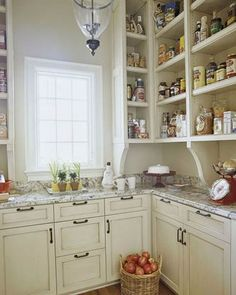 old fashioned pantry