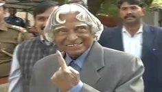 EVM Malfunction: APJ Abdul Kalam returns, then comes back to vote