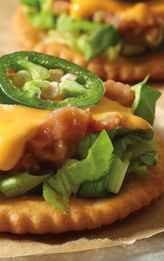 Teach your kids a thing or two about tasty snacks and try out this RITZ Tostadas recipe.