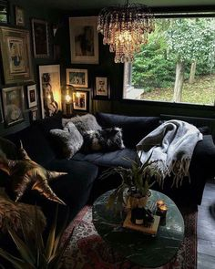 31 Bohemian Chic Living Room Decor Ideas 31 Bohemian Chic Living Room Decor Ideas Livingroom Livingroomdecor Livingroomideas Home Alone Bohemian Chic Living Room, Dark Living Rooms, Chic Living Room Decor, Home, Living Room Decor, House Rooms, House Interior, Dark Interiors, Interior Design