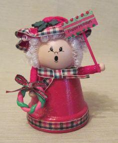 Lilicutes by Kakuseisha: Segunda Natalina - Vasos na decoração de Natal
