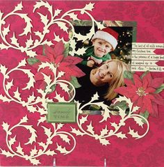 Anna Griffin Holly Whisper Die Cut Set of 8 by LeCardShoppe