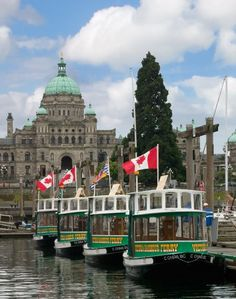 Ferries in the Inner Harbour by Nick Redding