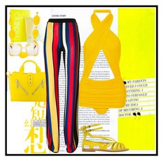 """""""Remove Flop Flip Clone Forwards Backwards Custom...Norma Kamali Mio ruched swimsuit Enter contest Save Draft Open New       WomenMenHomeMy ItemsCollectionsContest CONTEST color : YELLOW"""" by nefertiti1373 on Polyvore featuring Norma Kamali, Calvin Klein, Kim Rogers, Kenzo, Dolce&Gabbana, Balmain and Philosophy di Alberta Ferretti"""
