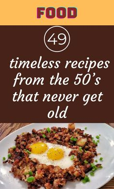 You may be very familiar with a tasty dish or dessert that your mom or dad learned from their own mother. #49 #timeless #recipes #50's Love Bears All Things, Choco Chips, Old Fashioned Recipes, Chicken Wraps, Cooking Recipes, Cooking Ideas, Protein Shakes, Hamburger Recipes, Chicken Recipes