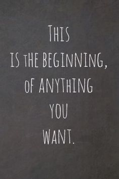 It's never too late to start fresh.