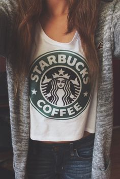 Teen fashion! Starbucks #coffee  *does anyone Know where to get one??