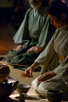 日本茶道 (Japanese tea ceremony) by ARO, via Flickr